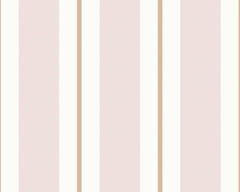 7008-3 Stripes Pink Orange